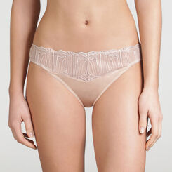 Iridescent Nude Tanga - WONDERBRA - Exclusive Collection