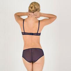 Grey print push-up balconette bra - Modern Chic-WONDERBRA