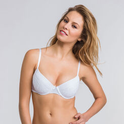 Lot de 2 soutiens-gorge push-up blanc et noir -WONDERBRA