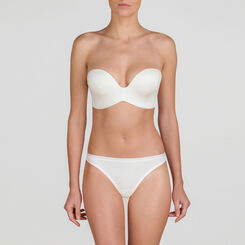 String basique blanc ivoire - WONDERBRA - New Basic Bottoms
