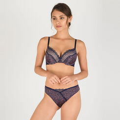 Grey print lace brief - Modern Chic-WONDERBRA