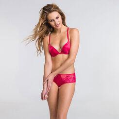 Shorty rouge et rose - Collection Luxe-WONDERBRA