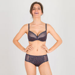 Grey print lace shorty - Modern Chic-WONDERBRA