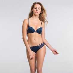 Dark blue tanga - Luxe Collection-WONDERBRA