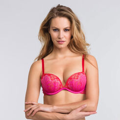 Pink Full Effect push-up bra - Refined Glamour-WONDERBRA