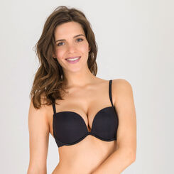 Black Full Effect Push-up Bra – Ultimate Silhouette Plain-WONDERBRA
