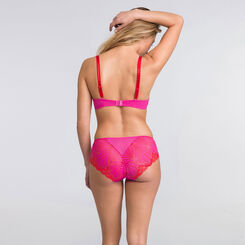 Soutien-gorge push-up triangle rose - Glamour Raffiné-WONDERBRA