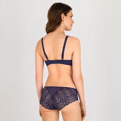 Shorty bleu marine et or - Glamour Raffiné-WONDERBRA