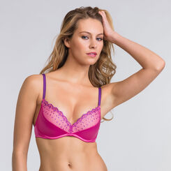 Soutien-gorge push-up sans armatures rose - Modern Chic-WONDERBRA