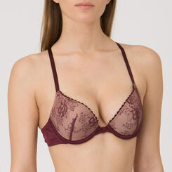 Soutien-gorge Push-up Gel Bra prune – Collection Luxe-WONDERBRA