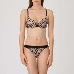Leopard Print Brazilian brief – Tribal Chic-WONDERBRA