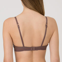 Mocha Wireless Push-up Bra - Minimal Chic-WONDERBRA