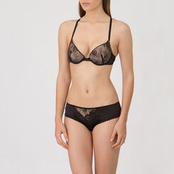 Shorty noir – Collection Luxe-WONDERBRA