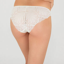 Ivory white lace tanga - Refined Glamour-WONDERBRA