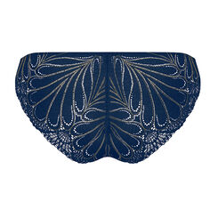 Tanga dentelle bleu marine et or – Glamour Raffiné-WONDERBRA