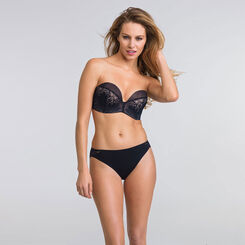 Black Ultimate Strapless Push-up Bra – Refined Glamour-WONDERBRA