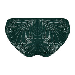 Dark green lace tanga - Refined Glamour-WONDERBRA