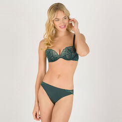 Soutien-gorge Push-up Full Effect Vert – Glamour Raffiné-WONDERBRA
