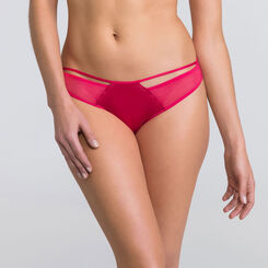 Tanga rose et rouge - Collection Luxe-WONDERBRA