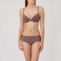 Mocha Push-up T-shirt Bra - Ultimate Silhouette Plain-WONDERBRA