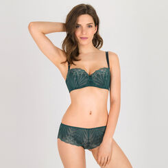 Shorty vert foncé - Glamour Raffiné-WONDERBRA