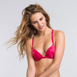 Pink and red Gel Bra - Luxe Collection-WONDERBRA