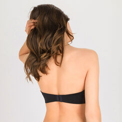 Soutien-gorge Push-up bandeau noir – Ultimate Silhouette-WONDERBRA