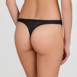 Black Lace Thong - Ultimate Silhouette Lace-WONDERBRA