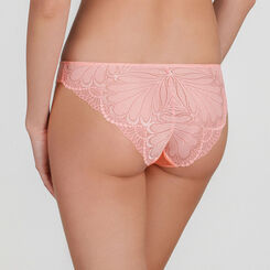 Peach Lace Brief - Refined Glamour-WONDERBRA