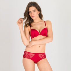 Shorty rouge foncé - Collection Luxe-WONDERBRA