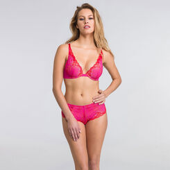 Shorty dentelle rose - Glamour Raffiné-WONDERBRA