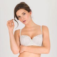 Ivory white Push-up Balconette Bra – Refined Glamour-WONDERBRA