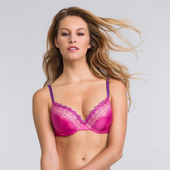 Soutien-gorge push-up T-Shirt Bra rose - Modern Chic-WONDERBRA