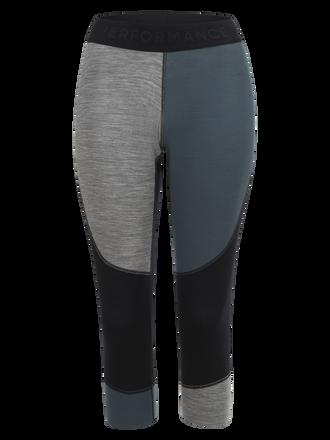 Damen Multi Basisschicht Kurze Tights