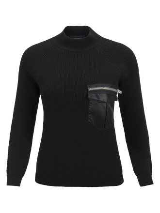 Women's Code Crew neck Black | Peak Performance