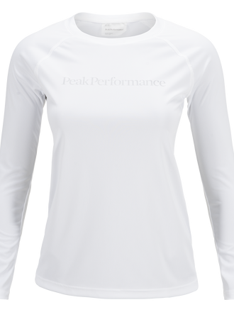 Women's Gallos Dyedron Longsleeved T-shirt White | Peak Performance