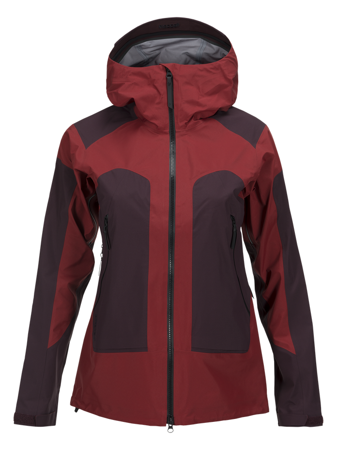 Women's Core 3-Layer Ski Jacket Dusty Wine | Peak Performance