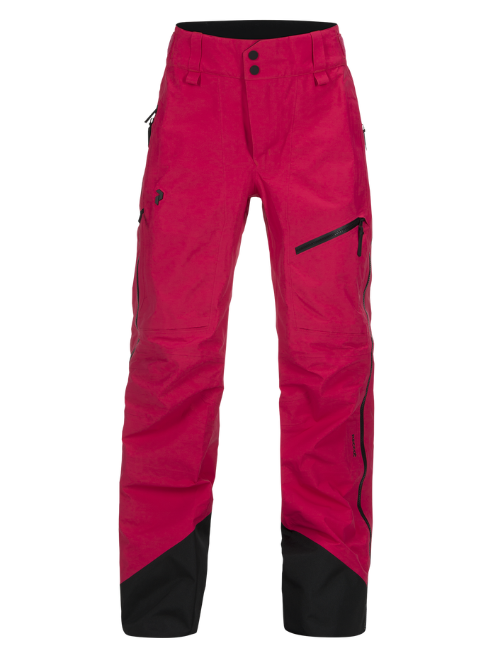 Women's Alpine Ski Pants Pink Planet | Peak Performance