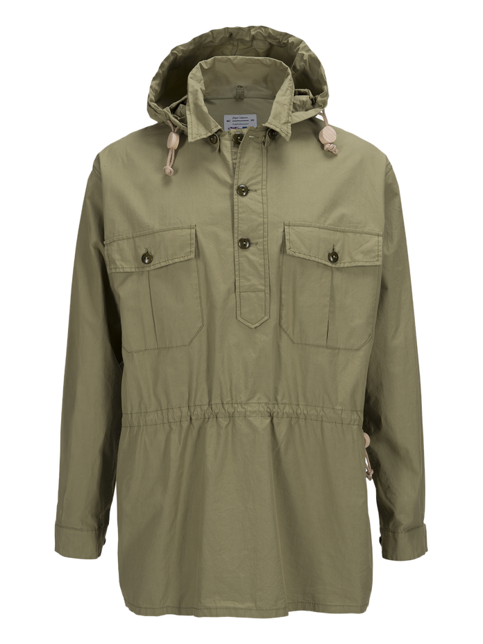 Unisex Vindskjorta Army Force Green | Peak Performance