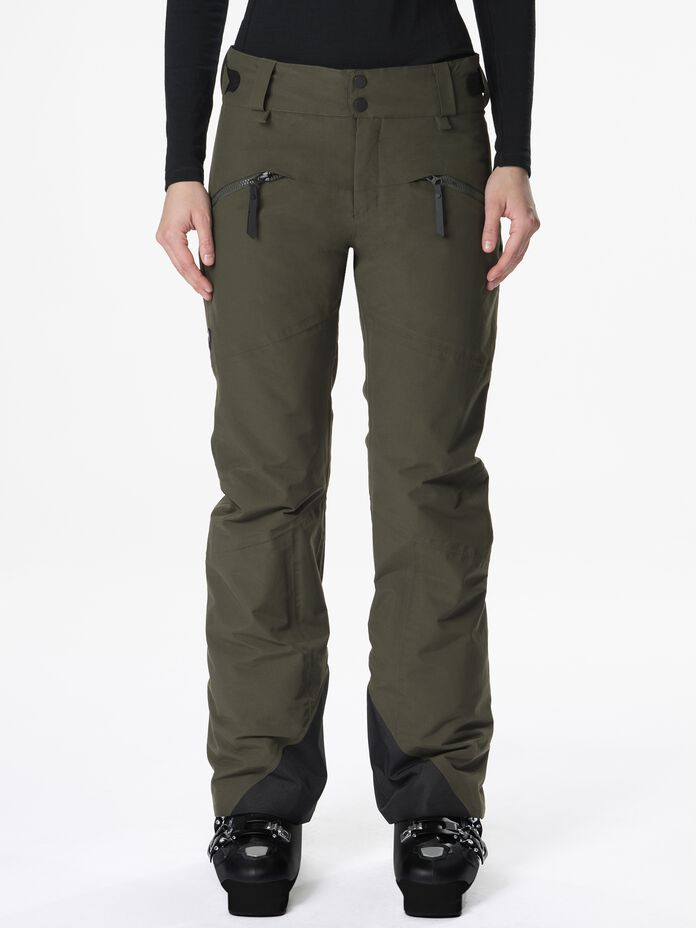 Women's Greyhawk Ski Pants Forest Night | Peak Performance