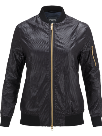 Women's Gold Glow Jacket Black | Peak Performance
