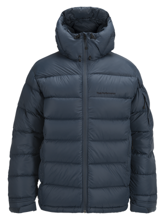 Men's Frost Down Jacket Blue Steel | Peak Performance