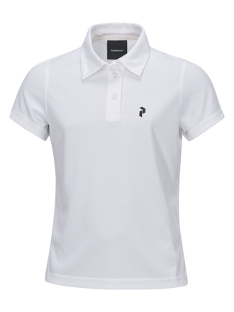 Polo de golf Elsham enfants White | Peak Performance