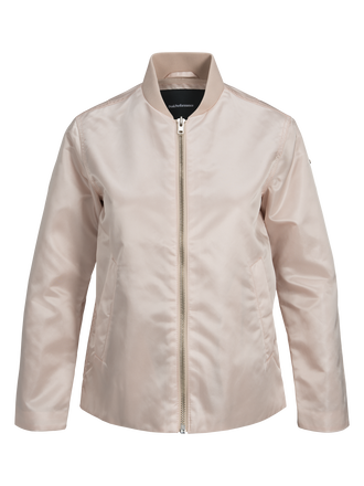 Damen Air Bomber Jacke Sepia | Peak Performance