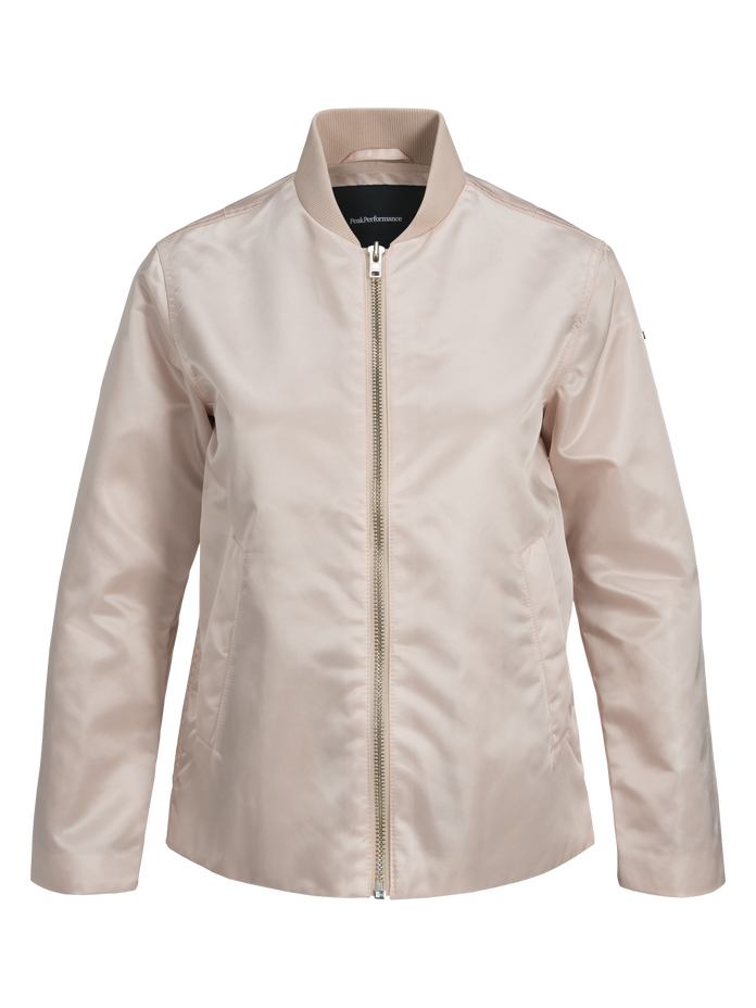 Women's Air Bomber Jacket Sepia | Peak Performance