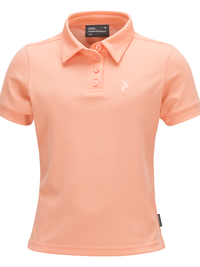 Kids Golf Elsham Polo  Coral Kick | Peak Performance