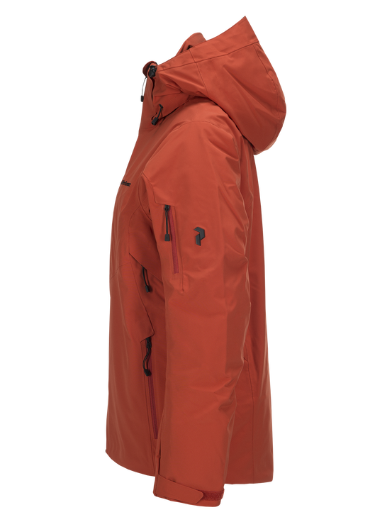 Men's Maroon II  Ski Jacket Orange Planet | Peak Performance