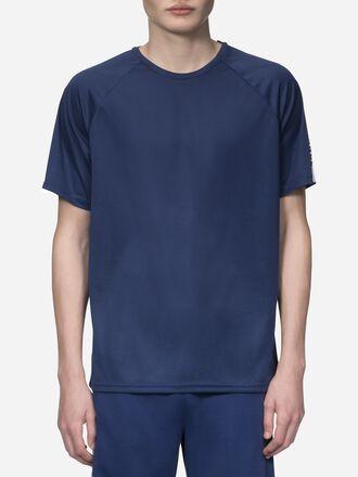Men's Tech Club T-shirt Thermal Blue | Peak Performance