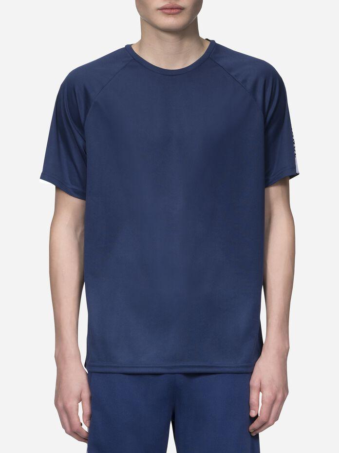 Tech Club t-shirt för herrar Thermal Blue | Peak Performance