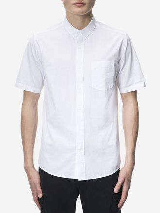 Men's Dean Short-sleeved Shirt White | Peak Performance